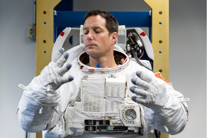 ESA想要找到让共享宇航服的内衬更加清洁卫生的方法