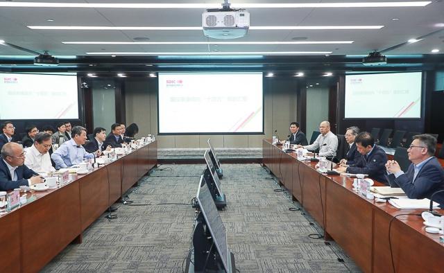 白涛调研国投泰康信托、国投安信期货