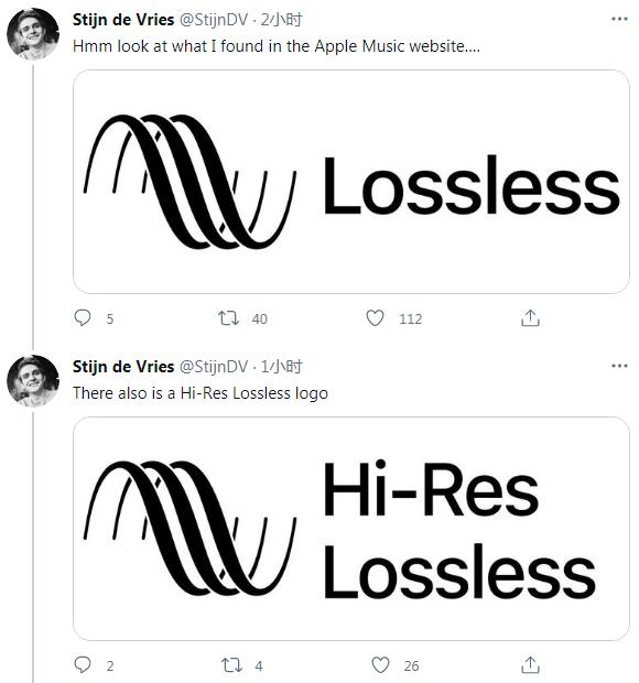 Lossless标志浮出水面:Apple Music或迎来Hi-Fi新选项