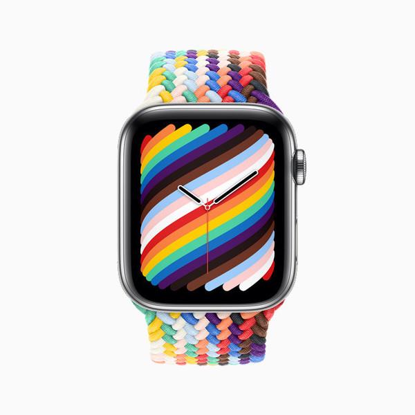 Apple Watch 2021 新款彩虹表带上线,售价 379 元起