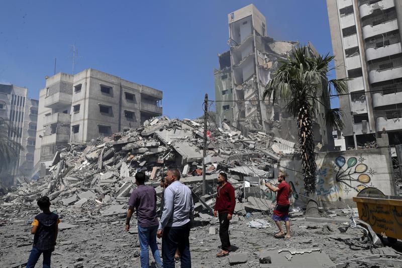 以军对加沙地带发动最致命空袭:从北到南轰炸10分钟