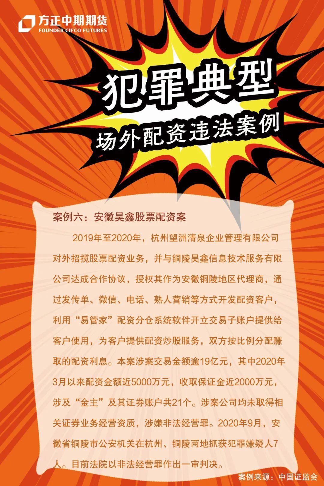 案例六:安徽昊鑫股票配资案