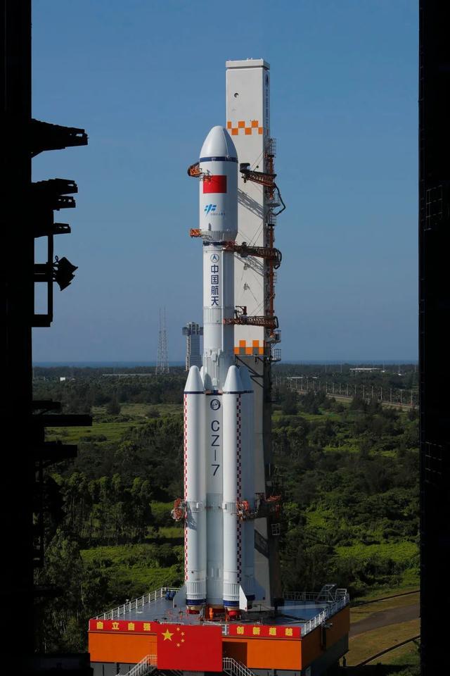长征七号遥三运载火箭发射天舟二号货运飞船的时间,定了!