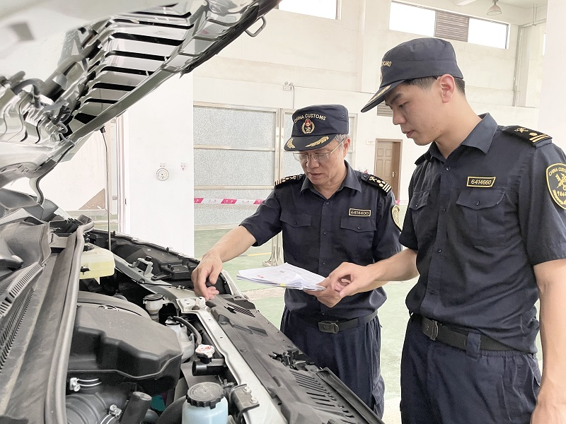 """免税8.4万!海南首辆""""零关税""""进口汽车通关"""