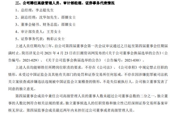 华源控股董事会、监事会完成换届选举并聘任高级管理人员