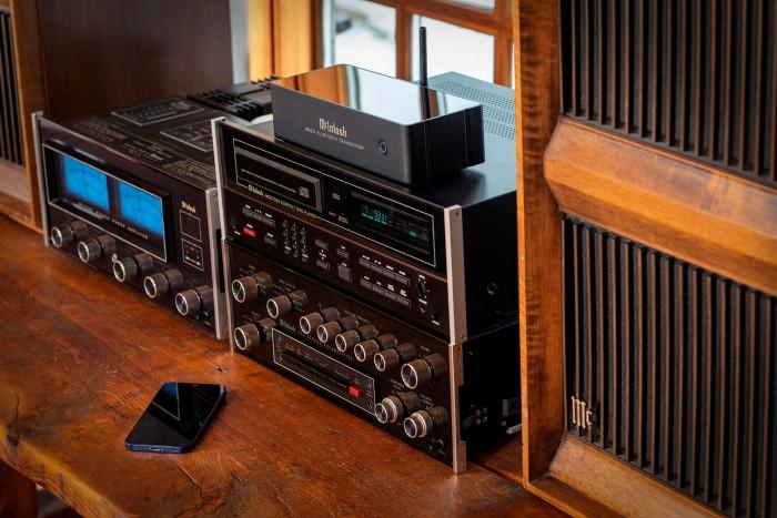 McIntosh推出MB20蓝牙无线收发器 轻松支持双向Hi-Fi串流