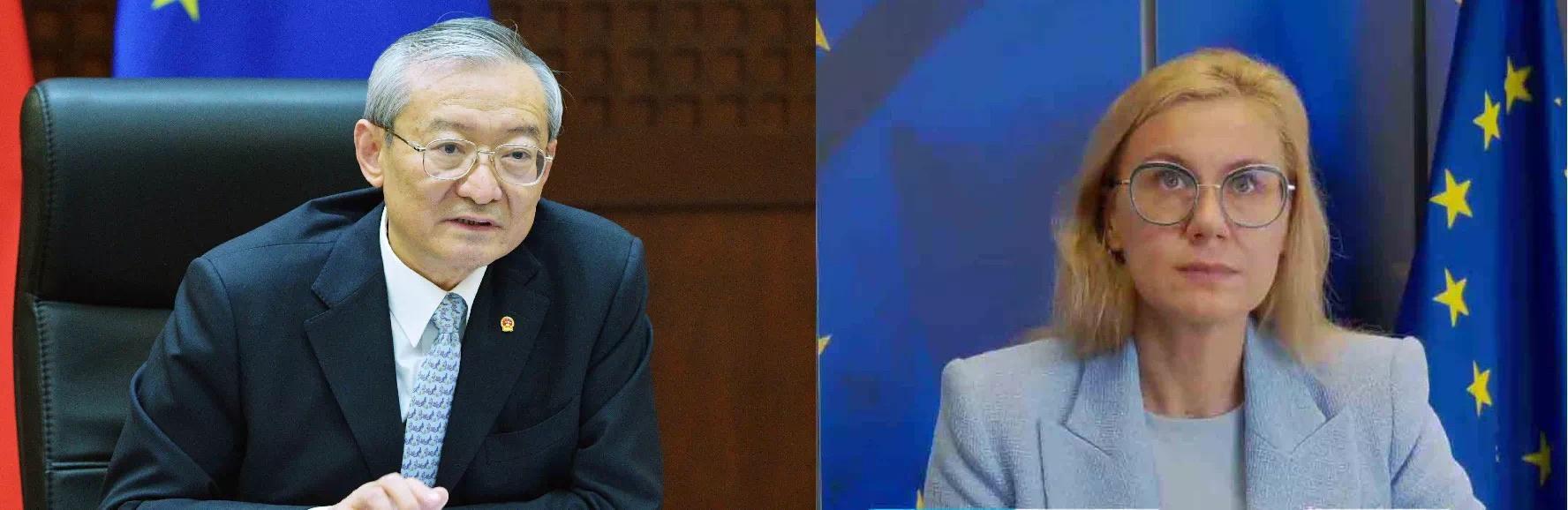 中国驻欧盟使团就加强气候变化和能源合作与欧委会成员交换意见