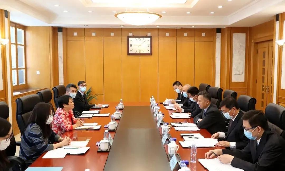 澳门特别行政区政府经济及科技发展局副局长陈子慧一行来访