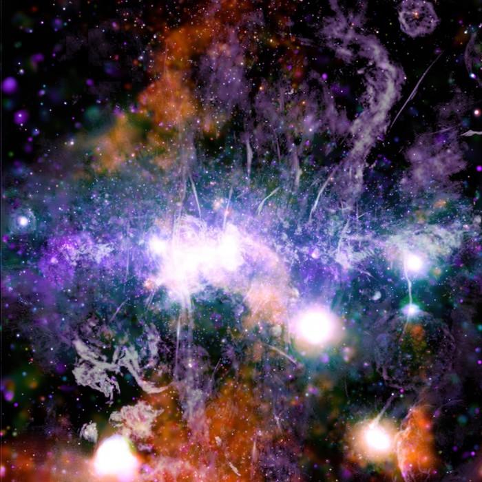 钱德拉X射线天文台给出银河系中心令人震惊的新图像 揭示星际能量来源