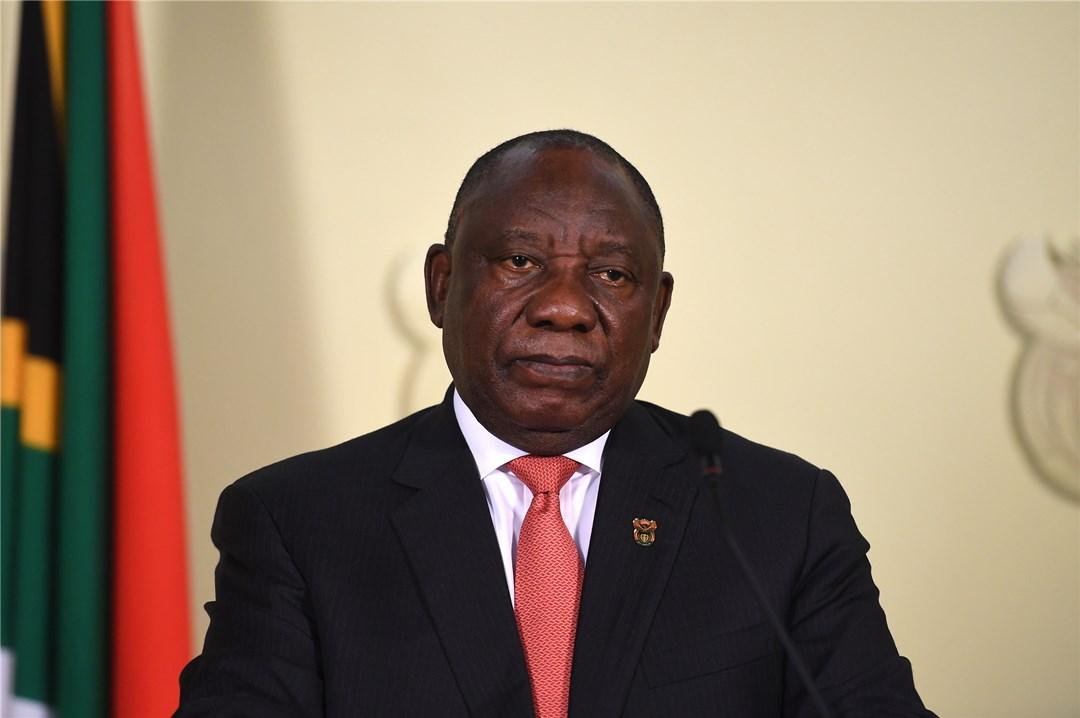 △南非总统拉马福萨 资料图