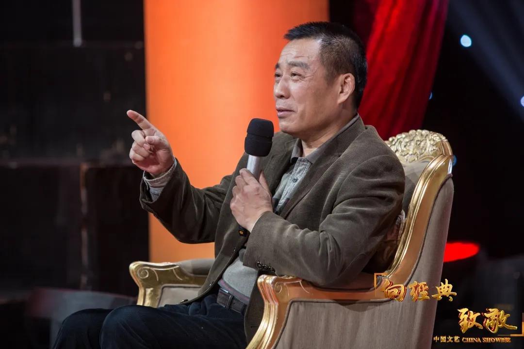 △中国电影集团艺委会主任、国家一级导演江平
