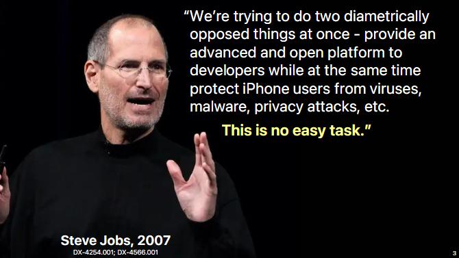 苹果律师回应Epic诉讼开场词:对方将我们描绘得太坏