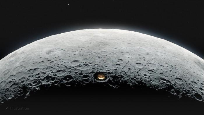 NASA月球陨石坑射电望远镜:将照亮宇宙黑暗时代