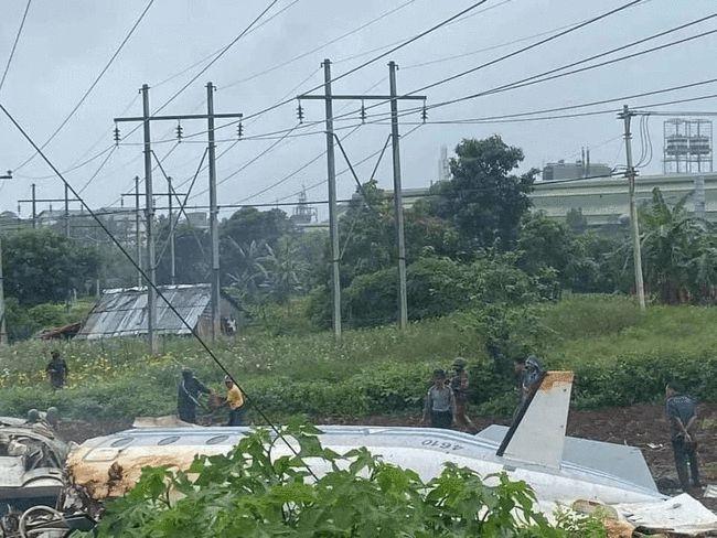 缅甸一军用飞机失事已致13死:原因不详