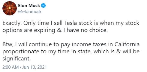 马斯克回应漏税指控:将继续按规定交税