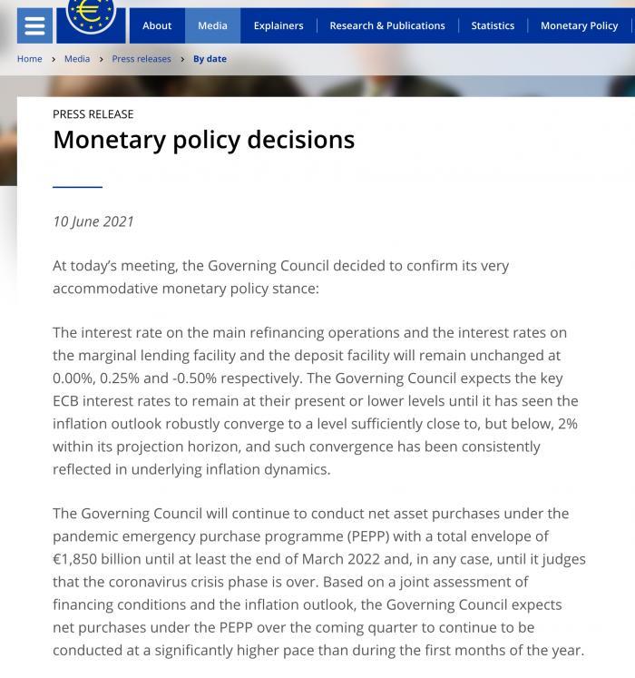 全球央行观察|欧洲央行仍无意拧紧水龙头 超宽松政策何时休?