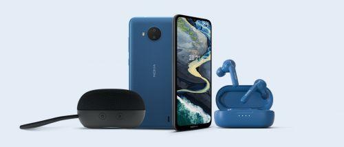 新品三连发 Nokia C20 Plus、真无线耳机及蓝牙音箱发布