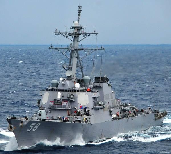 美军一艘宙斯盾驱逐舰进入黑海 俄国防部:俄黑海舰队已对其进行监视