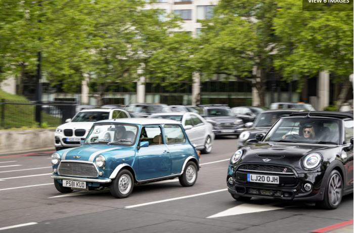 伦敦初创公司将经典mini老爷车纳入电动车改装行列