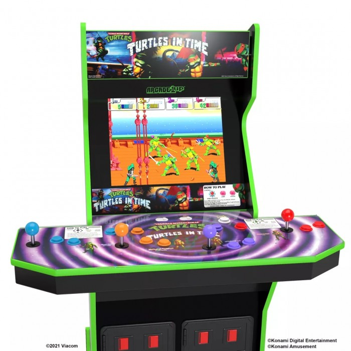 Arcade1Up预告《忍者神龟》、《街霸2》、以及《吃豆人》复古街机
