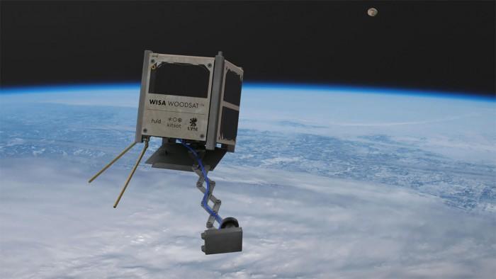 欧空局表态向木质的WISA Woodsat廉价小卫星任务提供支持