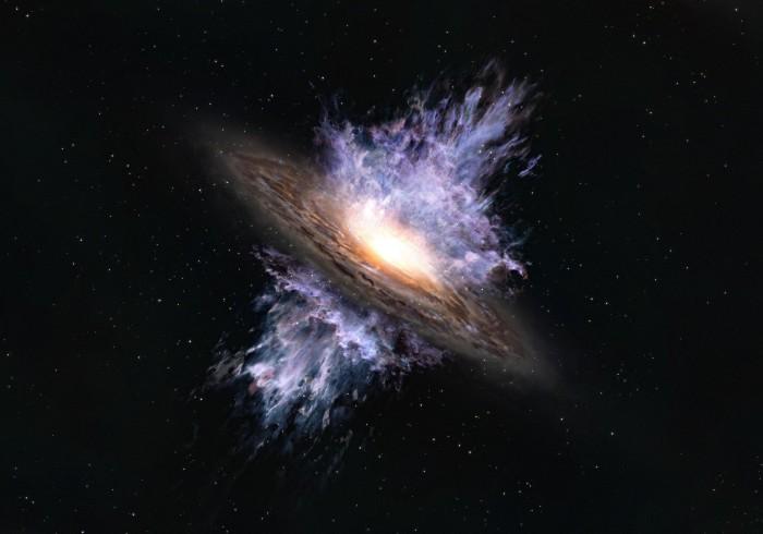 最早的巨大黑洞风暴被发现:关于宇宙早期历史的提示性信号