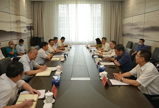 马军胜会见广西壮族自治区党委副书记刘小明