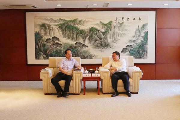 中交集团主要领导会见临汾市市长李云峰