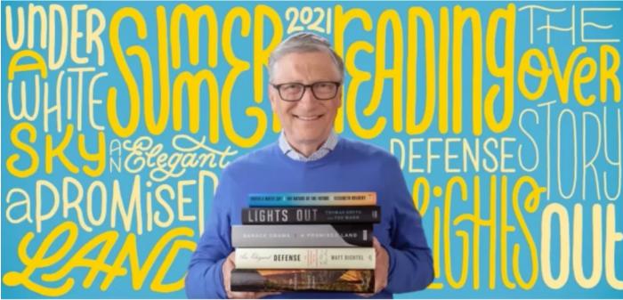 比尔·盖茨发布新夏季阅读书单:原定5月10月公布