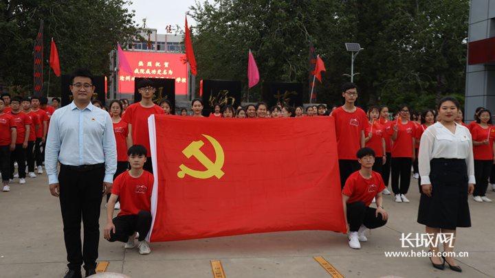 沧州幼儿师范高等专科学校唱响《岁月征程》
