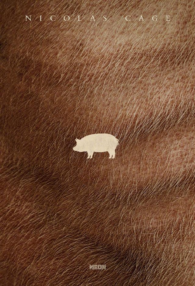 尼古拉斯·凯奇新片《猪》曝光海报,7月16日北美上映