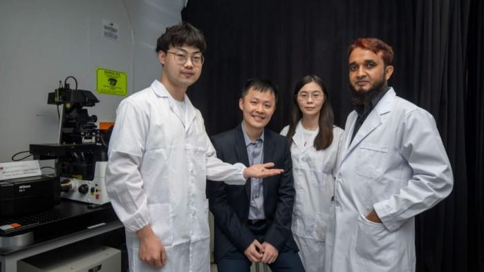 研究人员发明了一种可模仿鳐鱼精子游动动作的仿生机器人