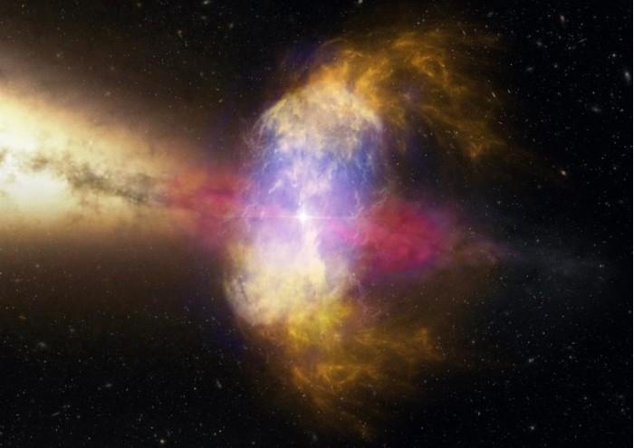 """宇宙中的星体""""水泡"""":天文学家分析超新星爆炸如何影响附近恒星"""