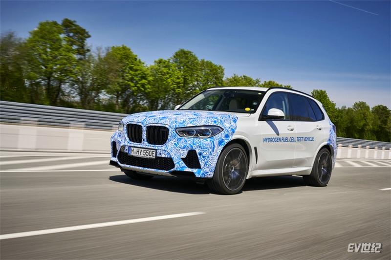 BMW i Hydrogen NEXT氢燃料电池原型车开启实路测试