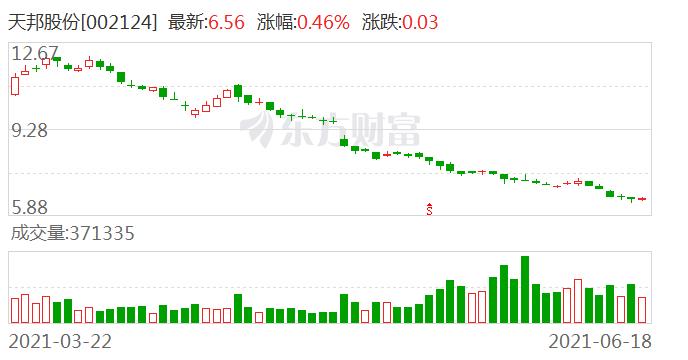 天邦股份:控股股东股权质押