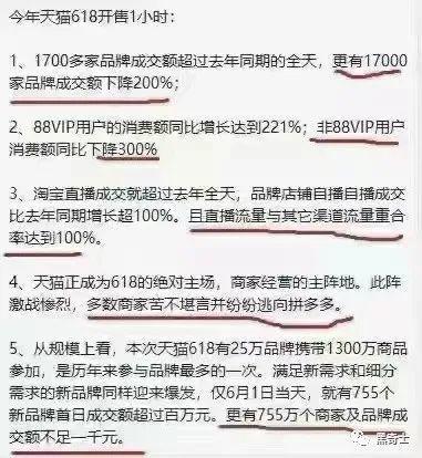 是谁在造谣:618销量下降,京东天猫用户逃往拼多多?