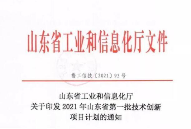 西王集团4个项目入选2021年山东省第一批技术创新项目计划