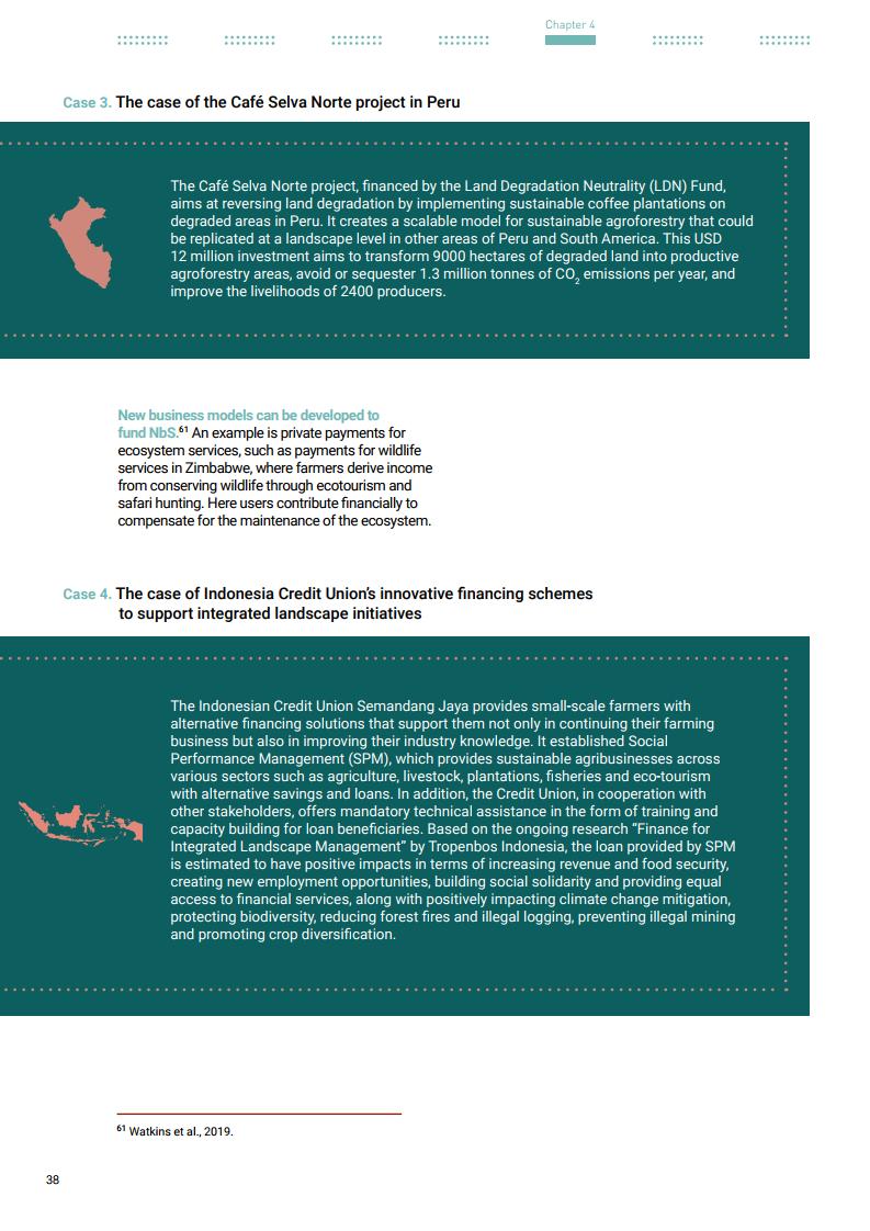 《联合国环境规划署:2021年自然融资状况报告》