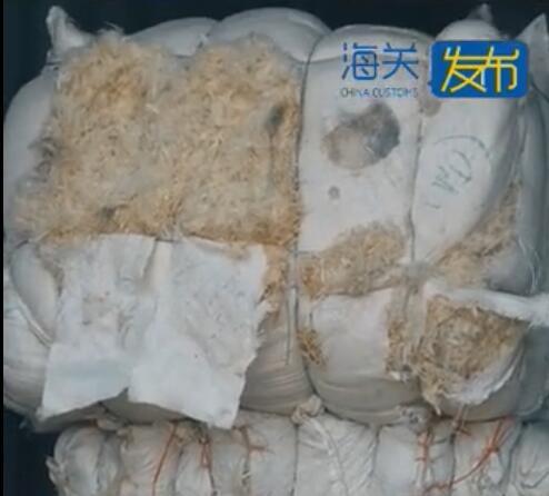 """鸭毛也有可能是""""洋垃圾""""!宁波海关查获35.22吨""""水洗白鸭毛"""""""