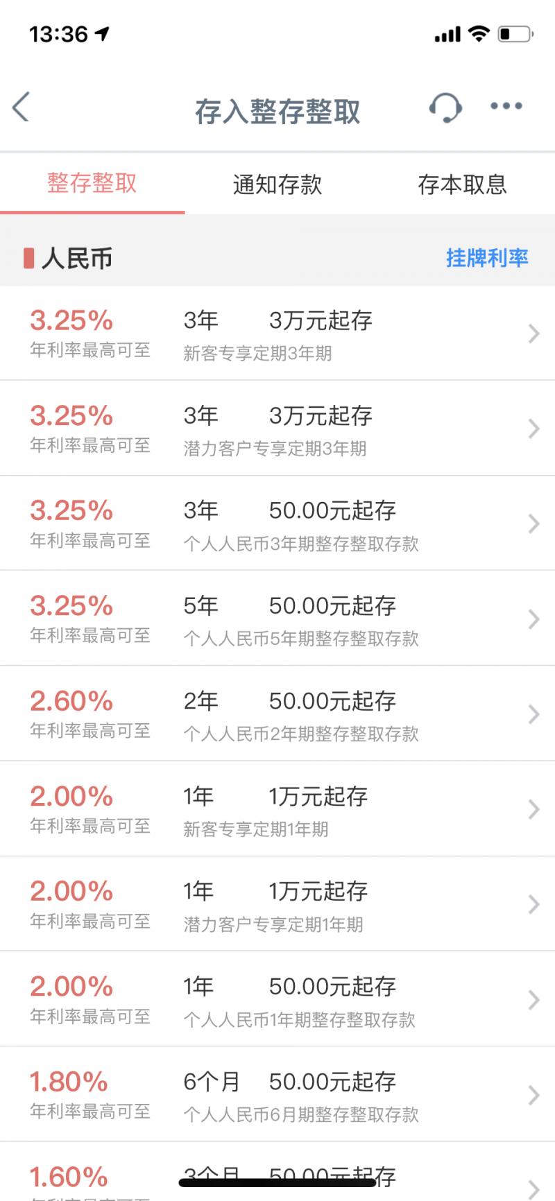 15楼财经   银行存款利率真调了 四大行定存利率最高3.25%