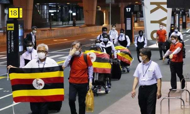 奥运会首个感染病例!抵达东京的一名乌干达运动员新冠检测呈阳性