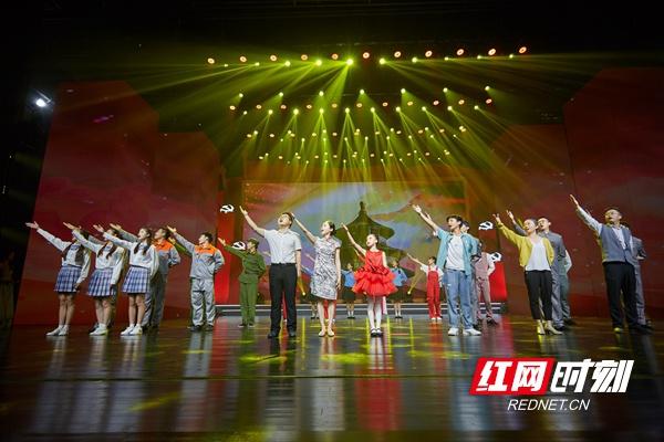 湖南省工业和信息化厅庆祝建党100周年文艺汇演举行