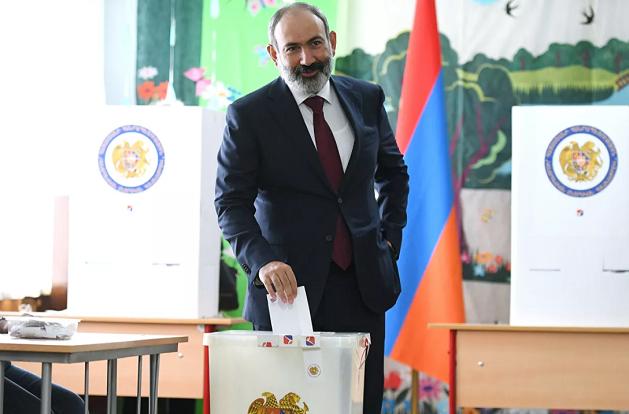 帕希尼扬所属政党赢得亚美尼亚议会选举