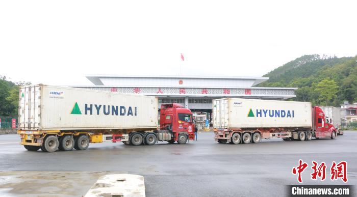 前5月广西外贸进出口增幅较全国高10个百分点