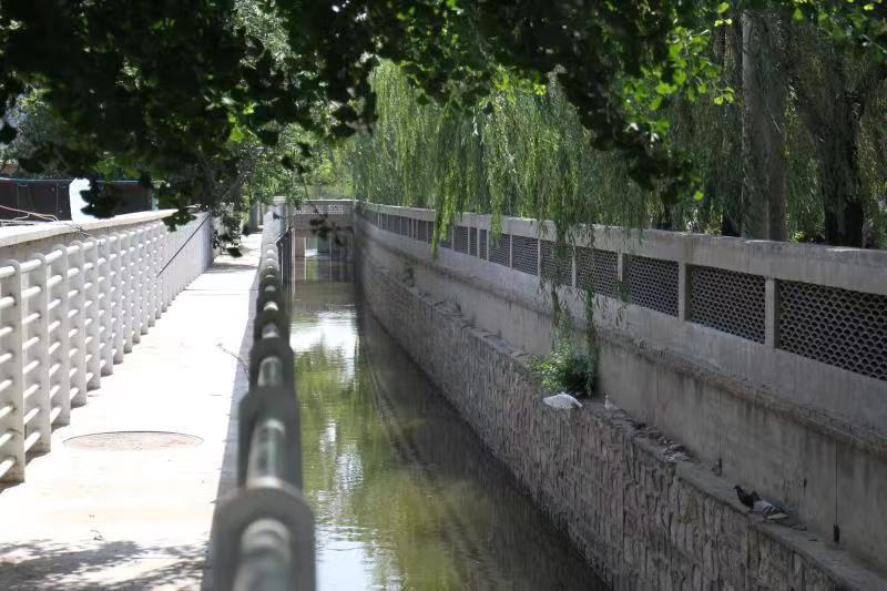 北京朝阳区这条4.5公里的小河还清了