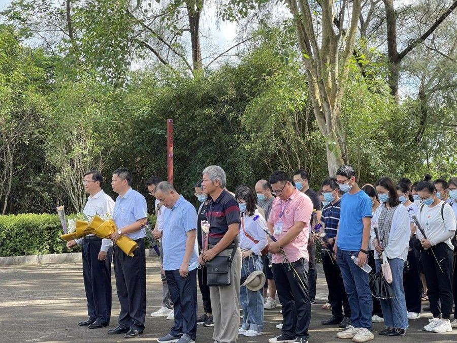 邕宁区:利用旅游景点因地制宜打造党史学习教育实践点