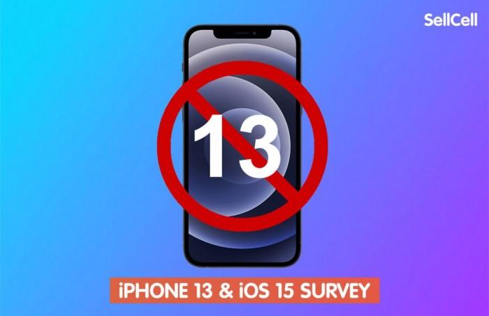 """[图]将近五分之一的美国苹果用户忌讳""""iPhone 13""""这个名称"""