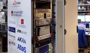 因斯布鲁克大学成功构建世界首个紧凑型量子计算机