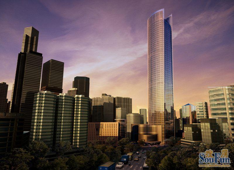 2021年6月重庆市解放碑商圈写字楼市场租赁情况