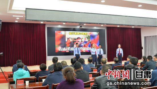 """临洮县税务局守正创新 以考促""""学""""检验党史学习成效"""